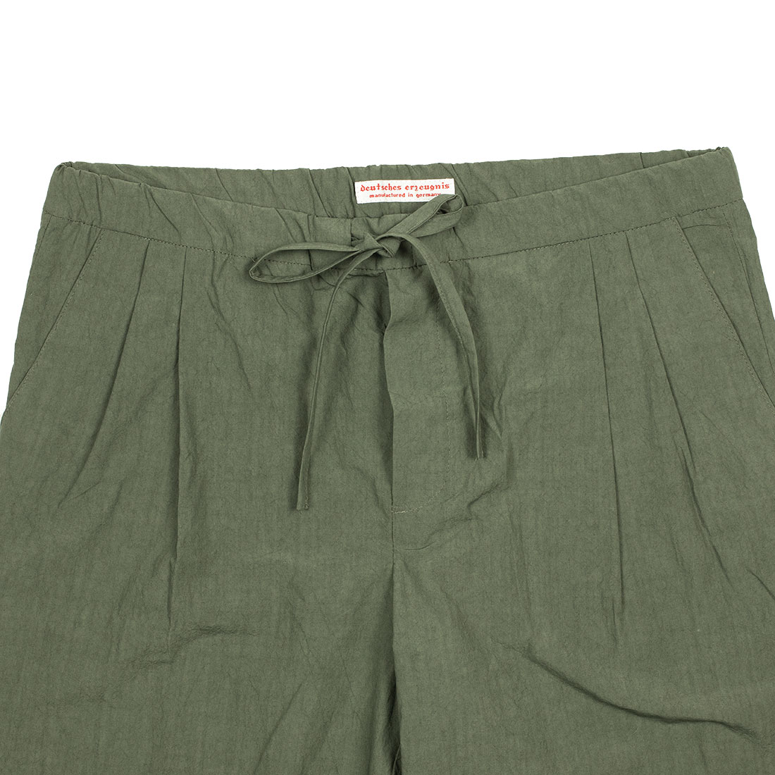 Frank Leder Spring Summer 2021 SS21 Made in Germany lightweight drawstring pleated trousers (6).jpg