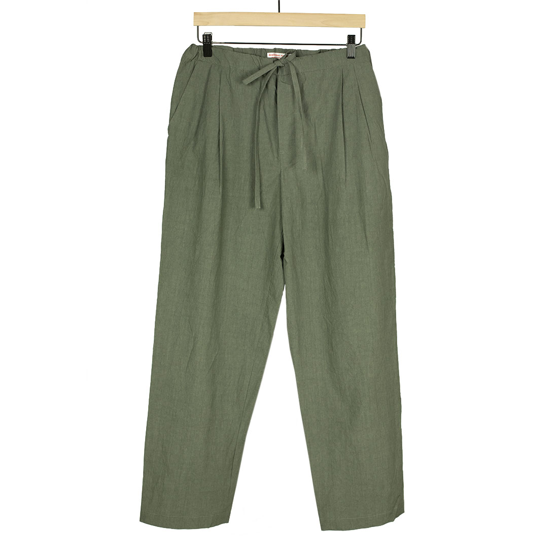 Frank Leder Spring Summer 2021 SS21 Made in Germany lightweight drawstring pleated trousers (8).jpg
