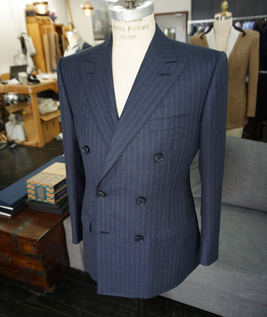 Genuardi Grey Stripe Double Breasted Suit.png