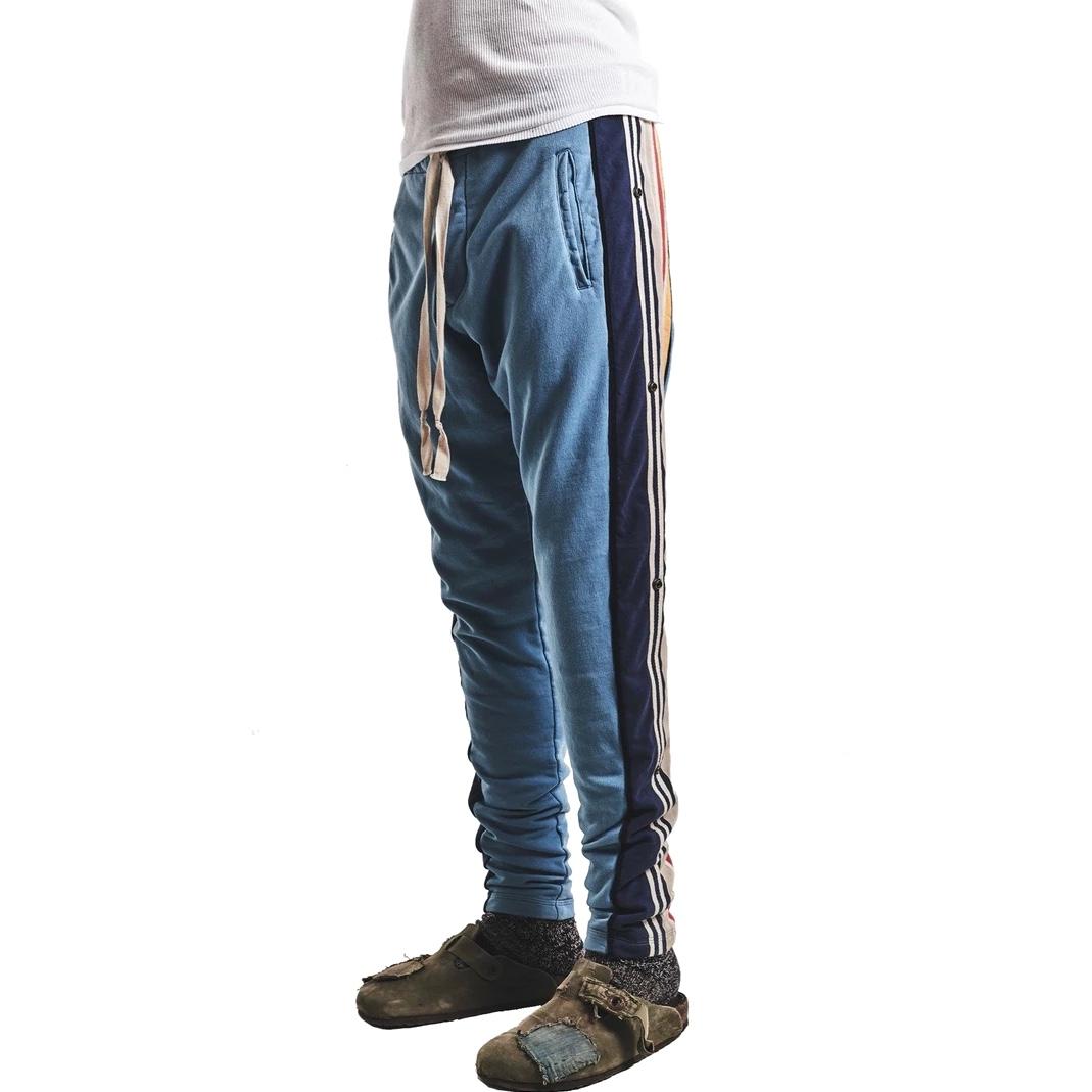 Greg Lauren Side Striped Drawstring Track Pants s.jpg