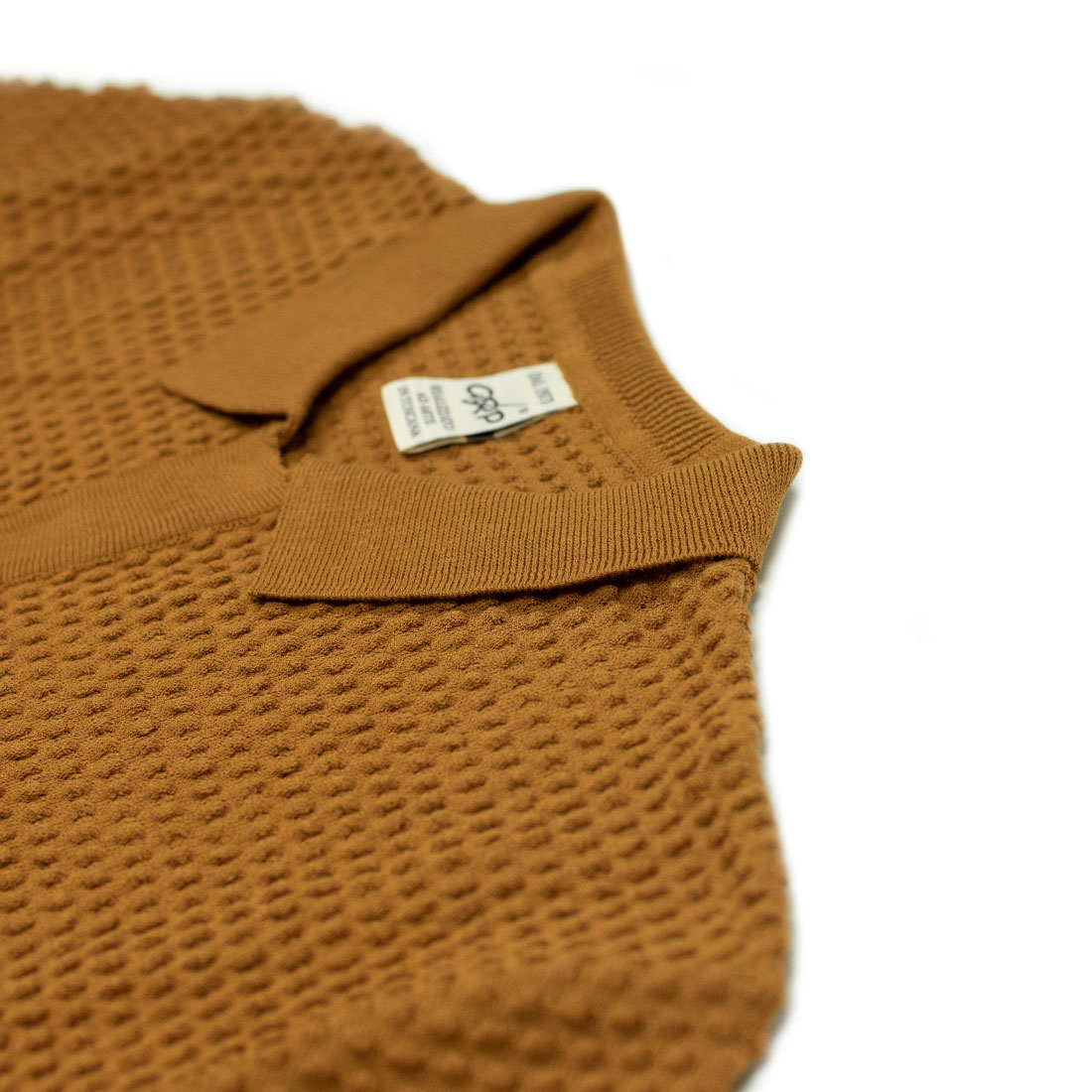 GRP Italy Spring Summer 2021 SS21 button stitch cotton knit polo (10).jpg