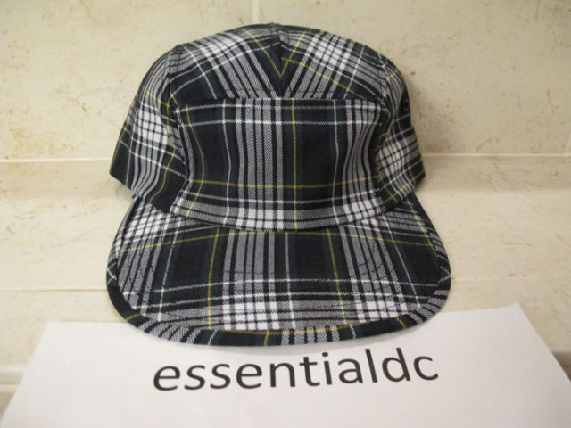 NEW YORK HAT COMPANY CO SUPREME PLAID CAMP HAT CAP  17b0cd626ff