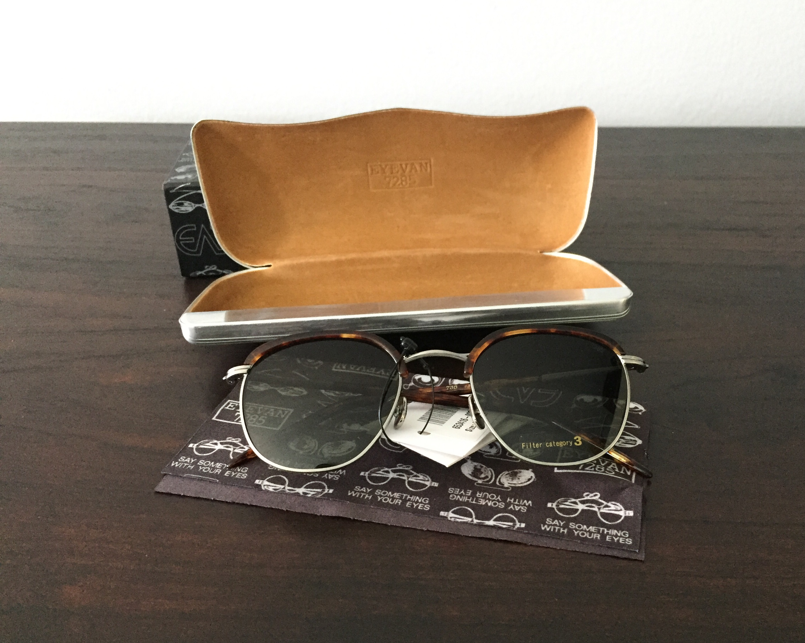 e2221d7aa6 Price Drop  BNWT Eyevan 7285 Model 735 Sunglasses