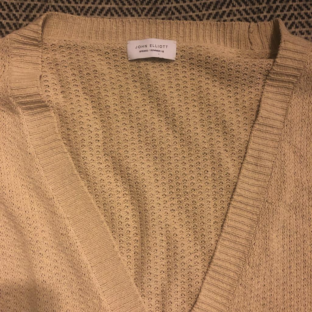 John Elliott silk cardigan in taupe in size 4_2.jpg