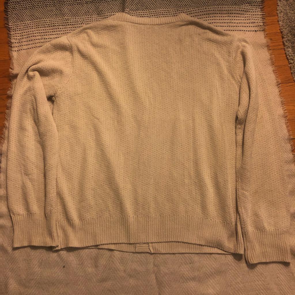 John Elliott silk cardigan in taupe in size 4_3.jpg