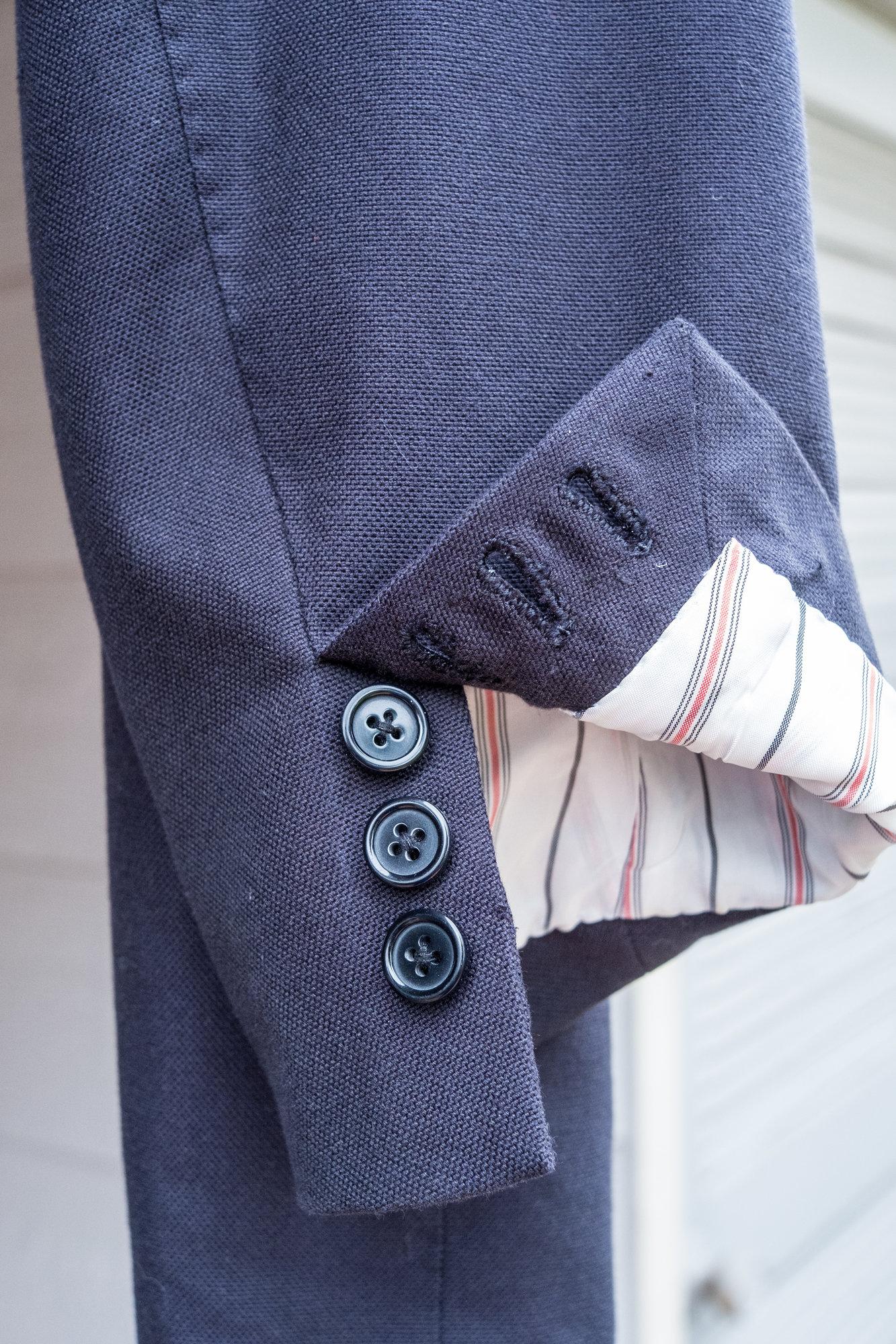 Kiton Cotton Blue Blazer in 54R (42R US size)-12.jpg