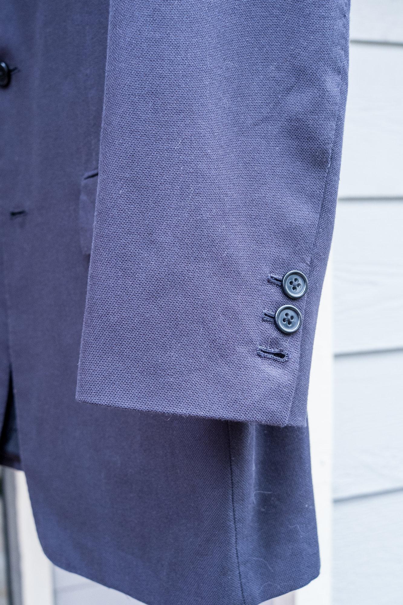 Kiton Cotton Blue Blazer in 54R (42R US size)-14.jpg