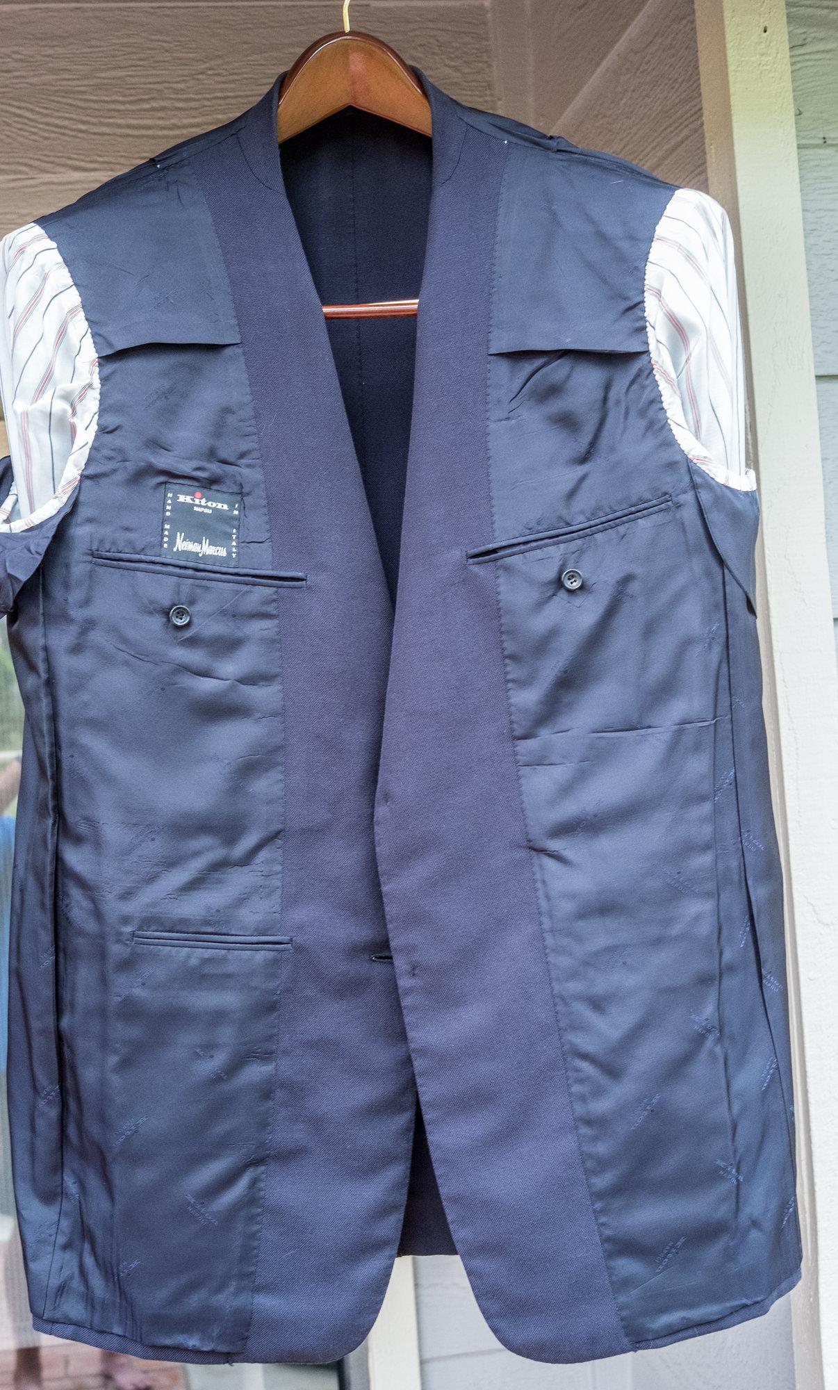 Kiton Cotton Blue Blazer in 54R (42R US size)-24.jpg