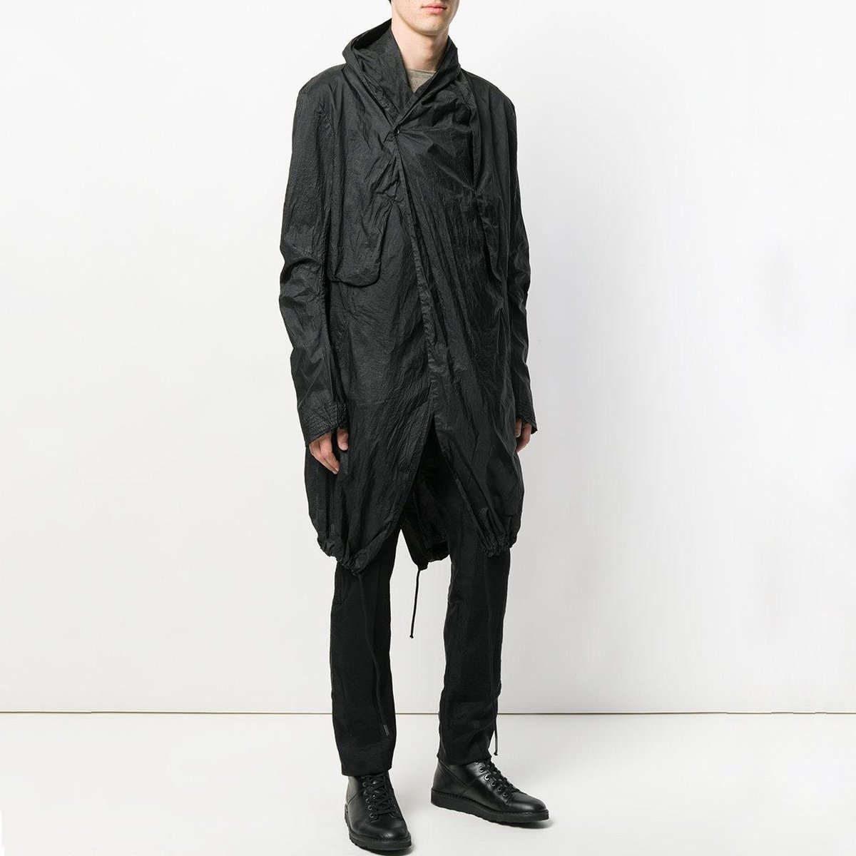 masnada-Black-Long-Drawstring-Coat (2).jpg