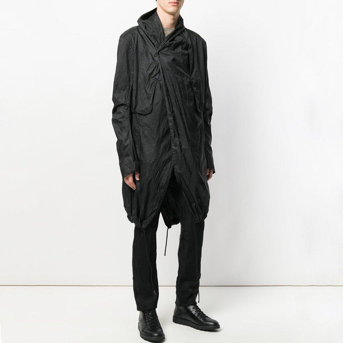 masnada-Black-Long-Drawstring-Coat (2).jpg