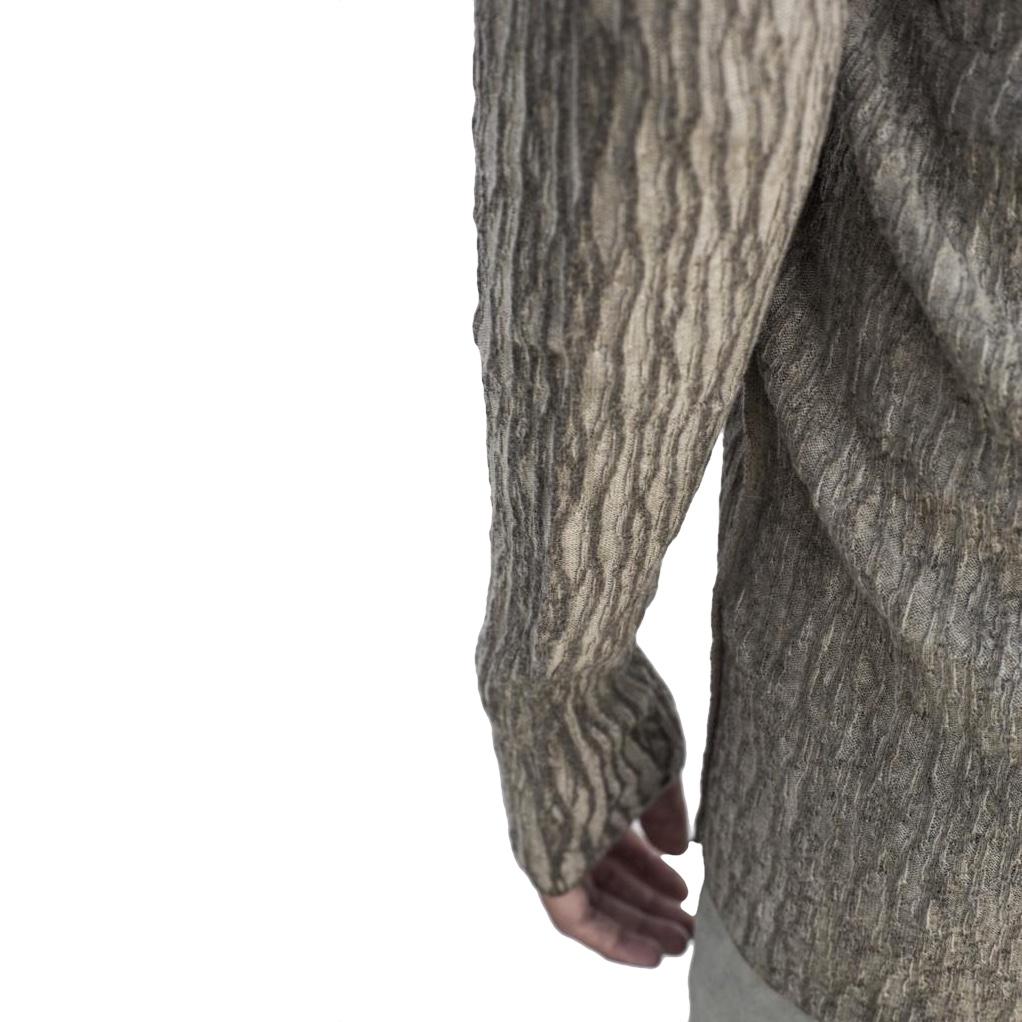 masnada ribbed linen long cardigan detail.jpg