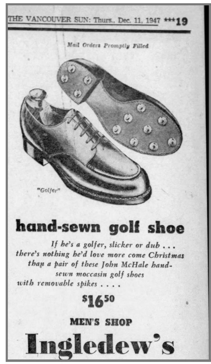 McHale 1947 golf shoes.JPG