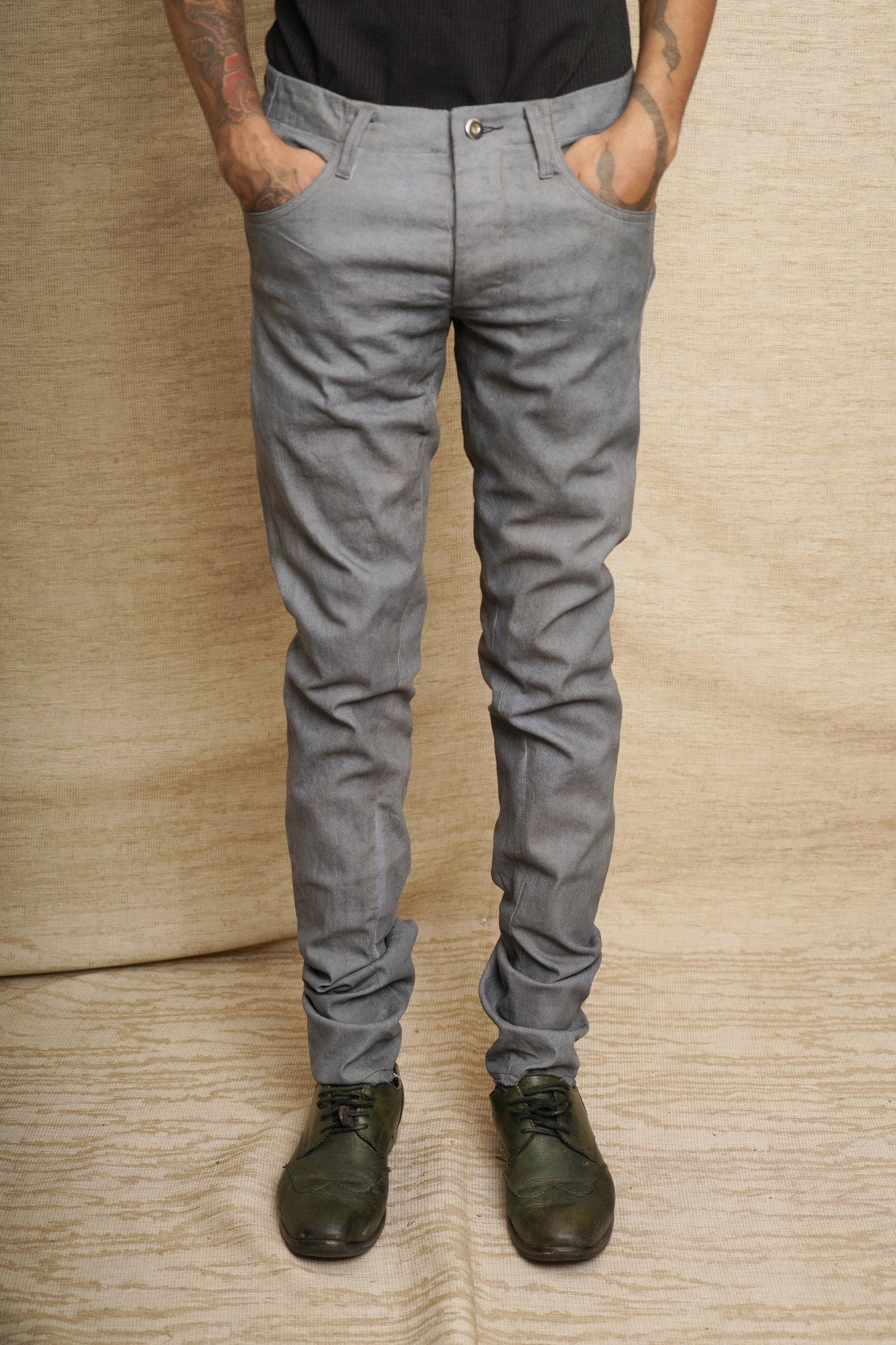 Minimalist slim jeans grey_2.JPG