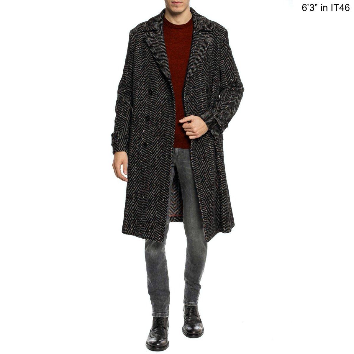 Missoni double breasted chevron wool coat fit1.jpg
