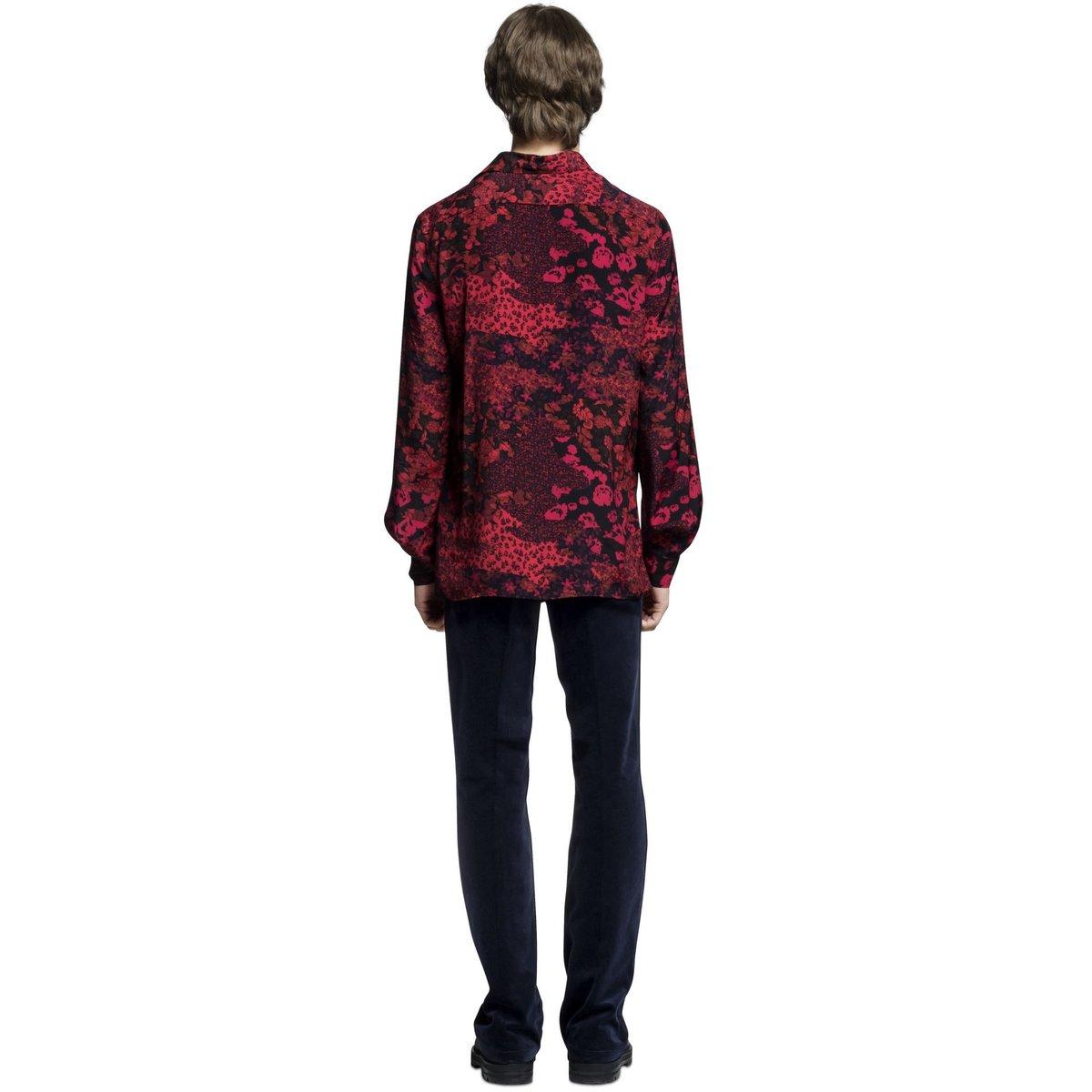 Missoni Red Floral Shirt Viscose 2.jpg