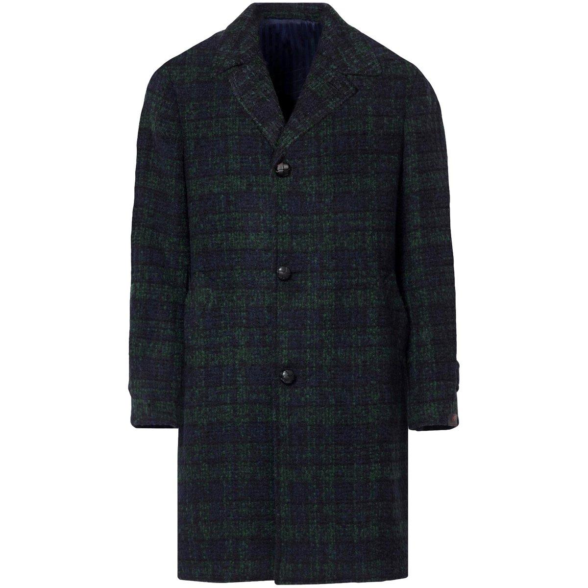 mp-massimo-piombo-Green-checked-Checked-Wool-Coat 2.jpg