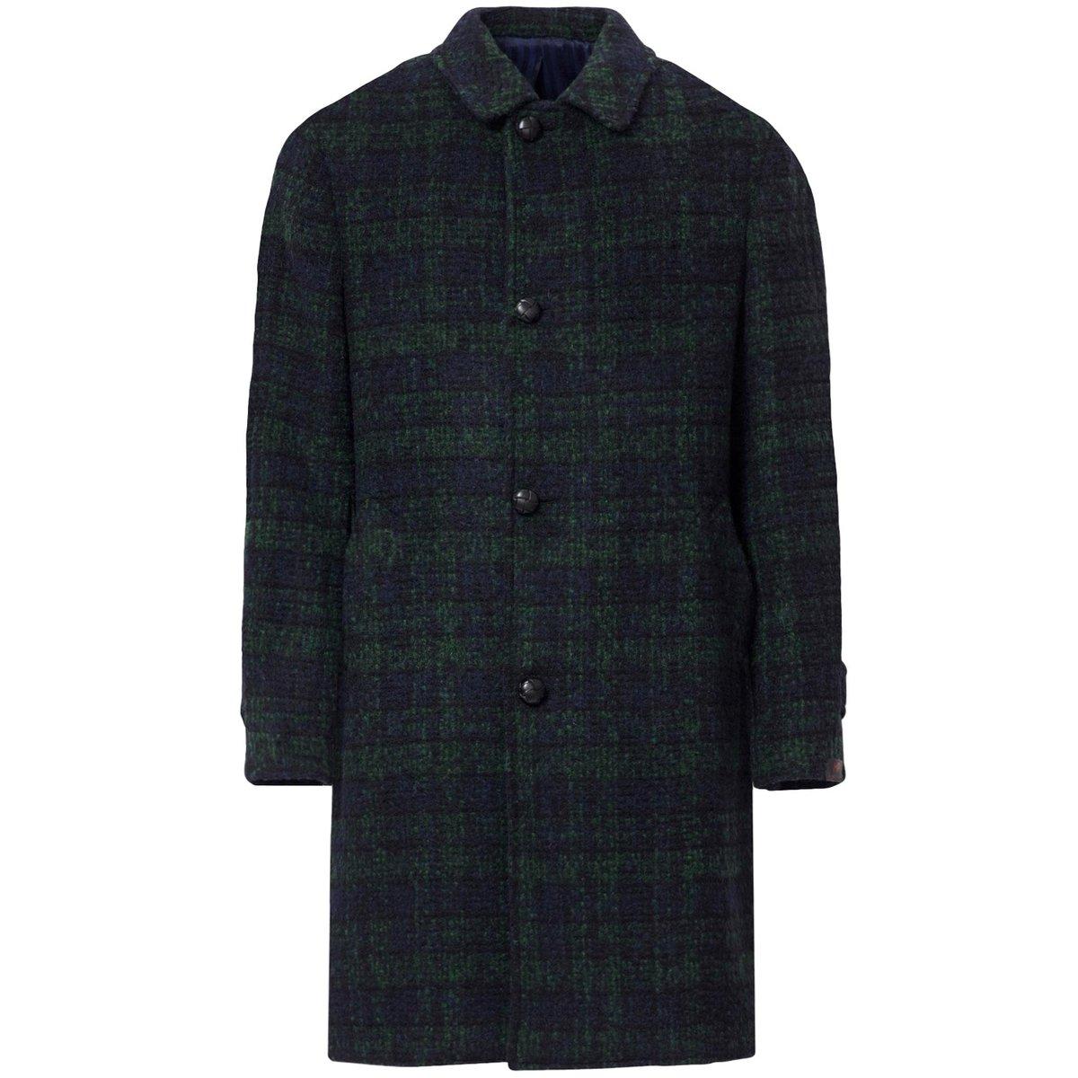mp-massimo-piombo-Green-checked-Checked-Wool-Coat.jpg