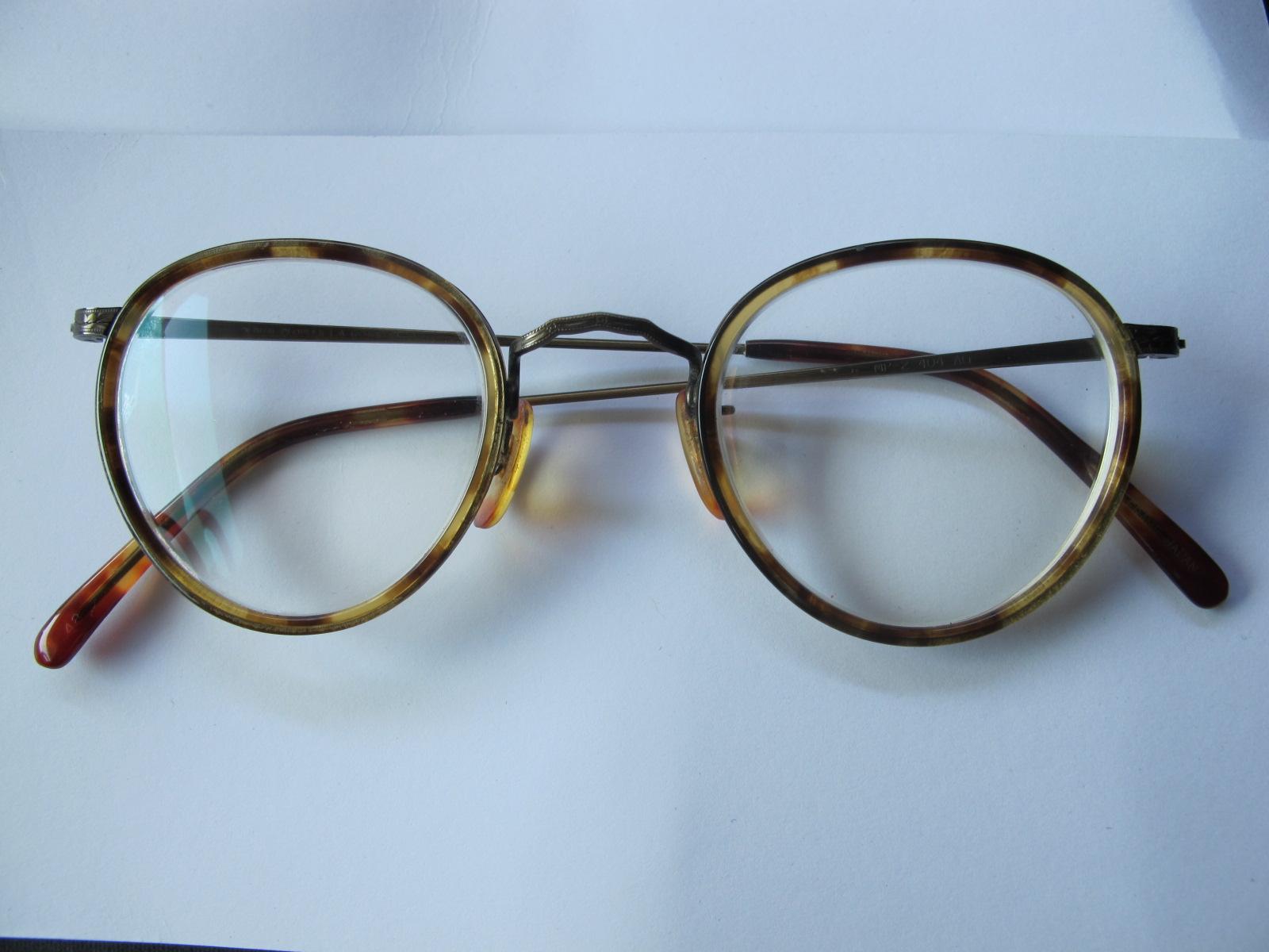Rare Vintage Oliver Peoples LA Eyeglasses MP-2 404 AG Tortoise ...