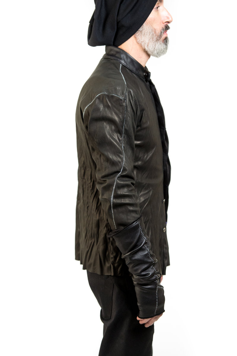 OVERLOCKED LEATHER SHIRT3.jpg