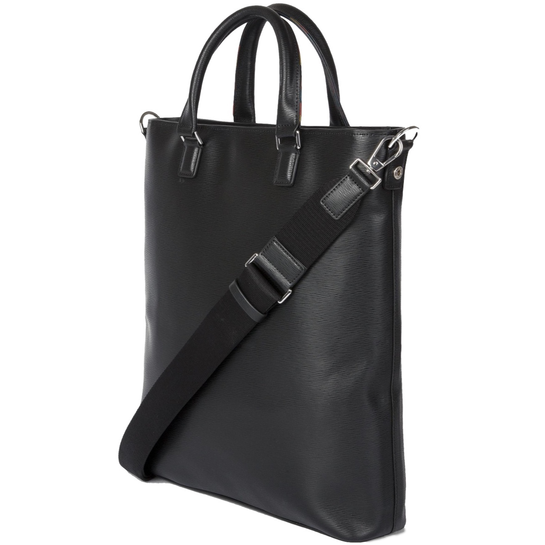 paul-smith-Black-Black-Embossed-Leather-Tote-Bag-With-bright-Stripe-Trim (3).jpg