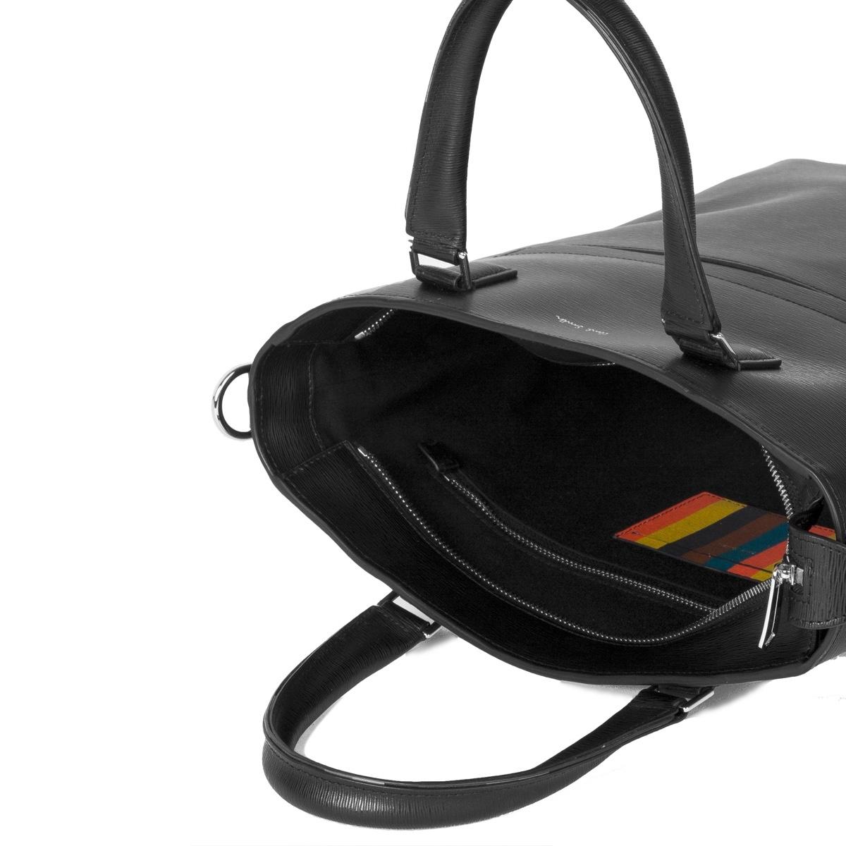paul-smith-Black-Black-Embossed-Leather-Tote-Bag-With-bright-Stripe-Trim.jpg
