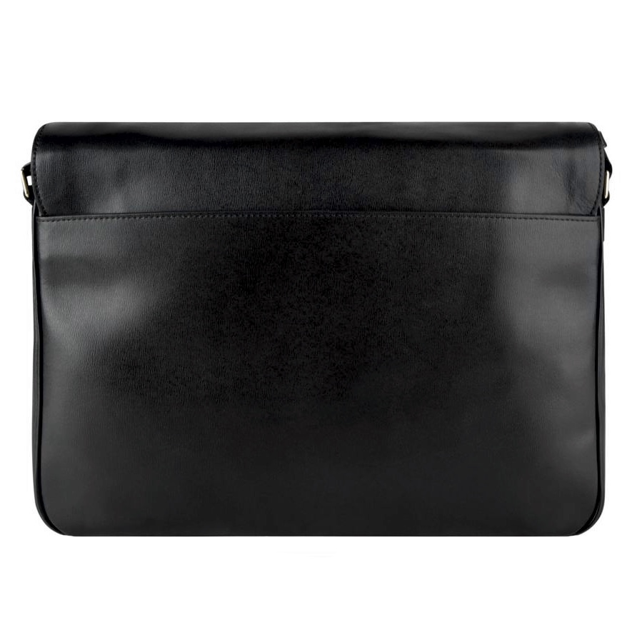PAUL SMITH New City Messenger Bag Black back.jpg