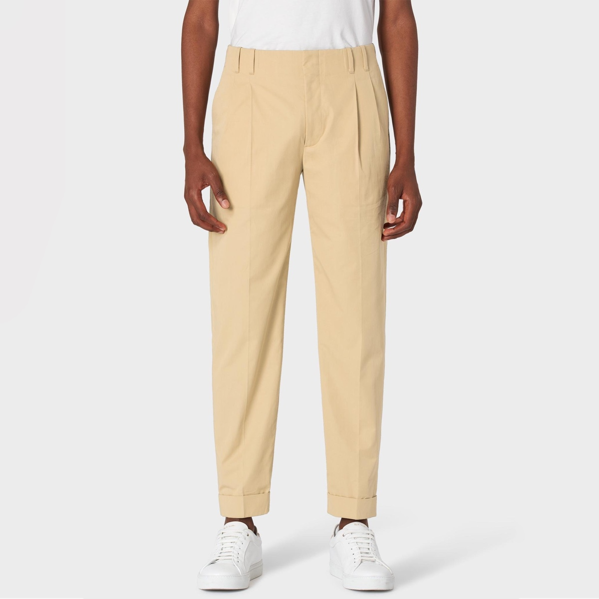 paul-smith-sand-Tapered-fit-Sand-Double-pleated-Cotton-Pants (1).jpg