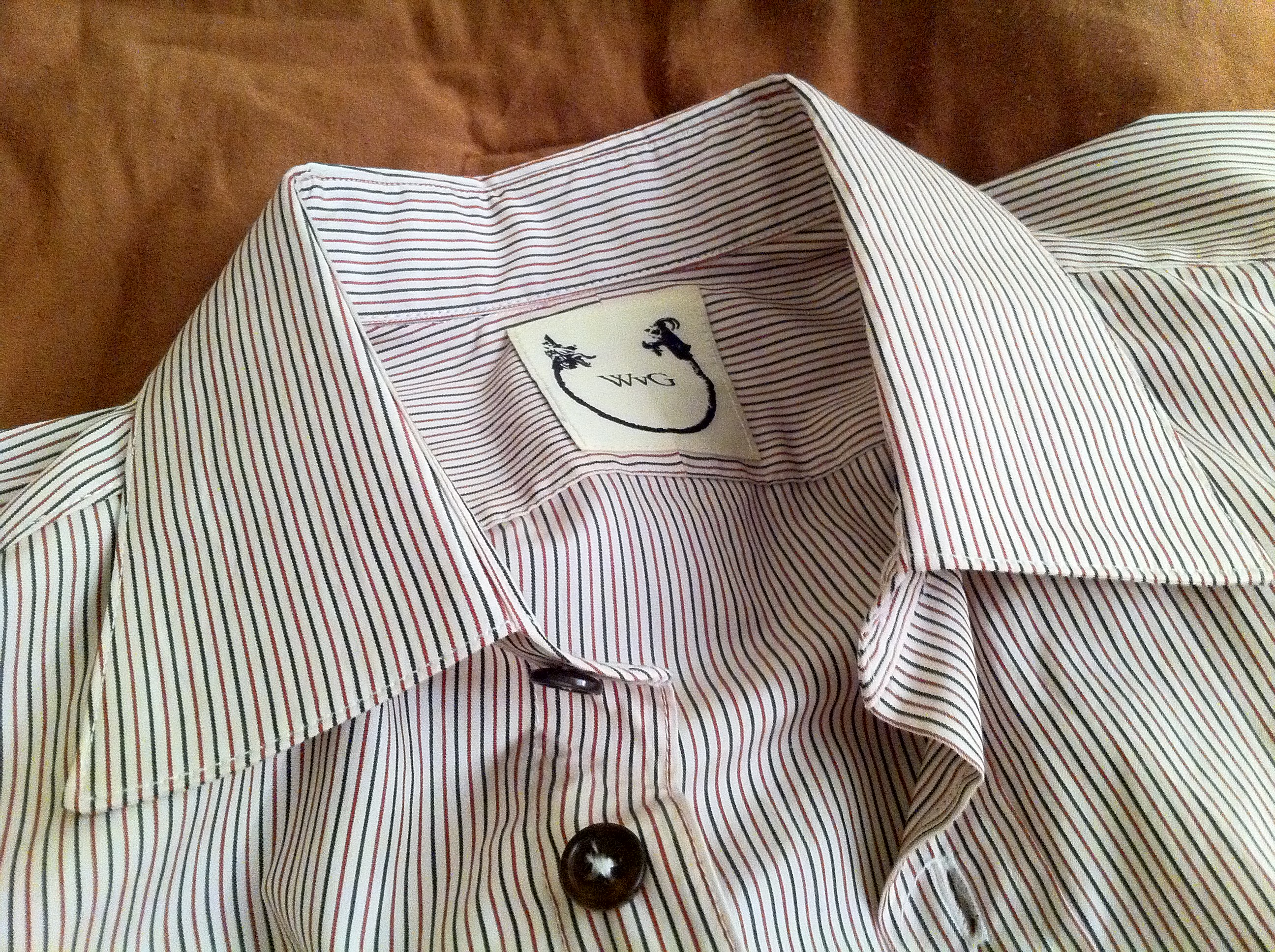 Wolf Vs Goat Sea Island Cotton Bd Shirt Medium Styleforum