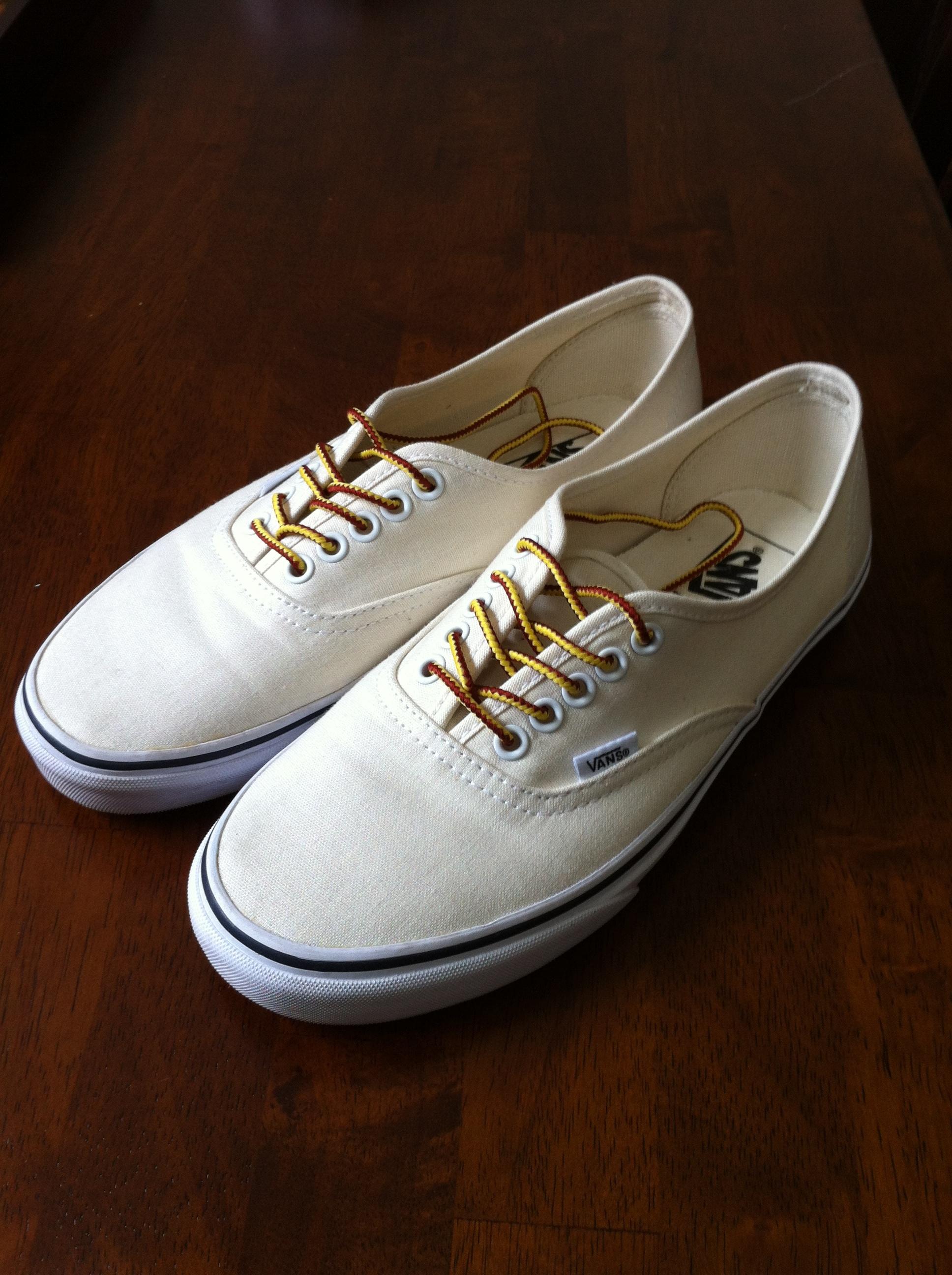 SOLD  VANS x J.Crew Authentic Canvas Sneakers - Men s 8.5 1d67d07c75