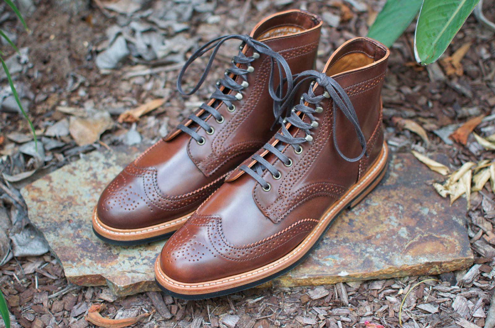 Rancourt Color #4 Shell Cordovan WT Boots - 2020-05-16 - 1.jpg