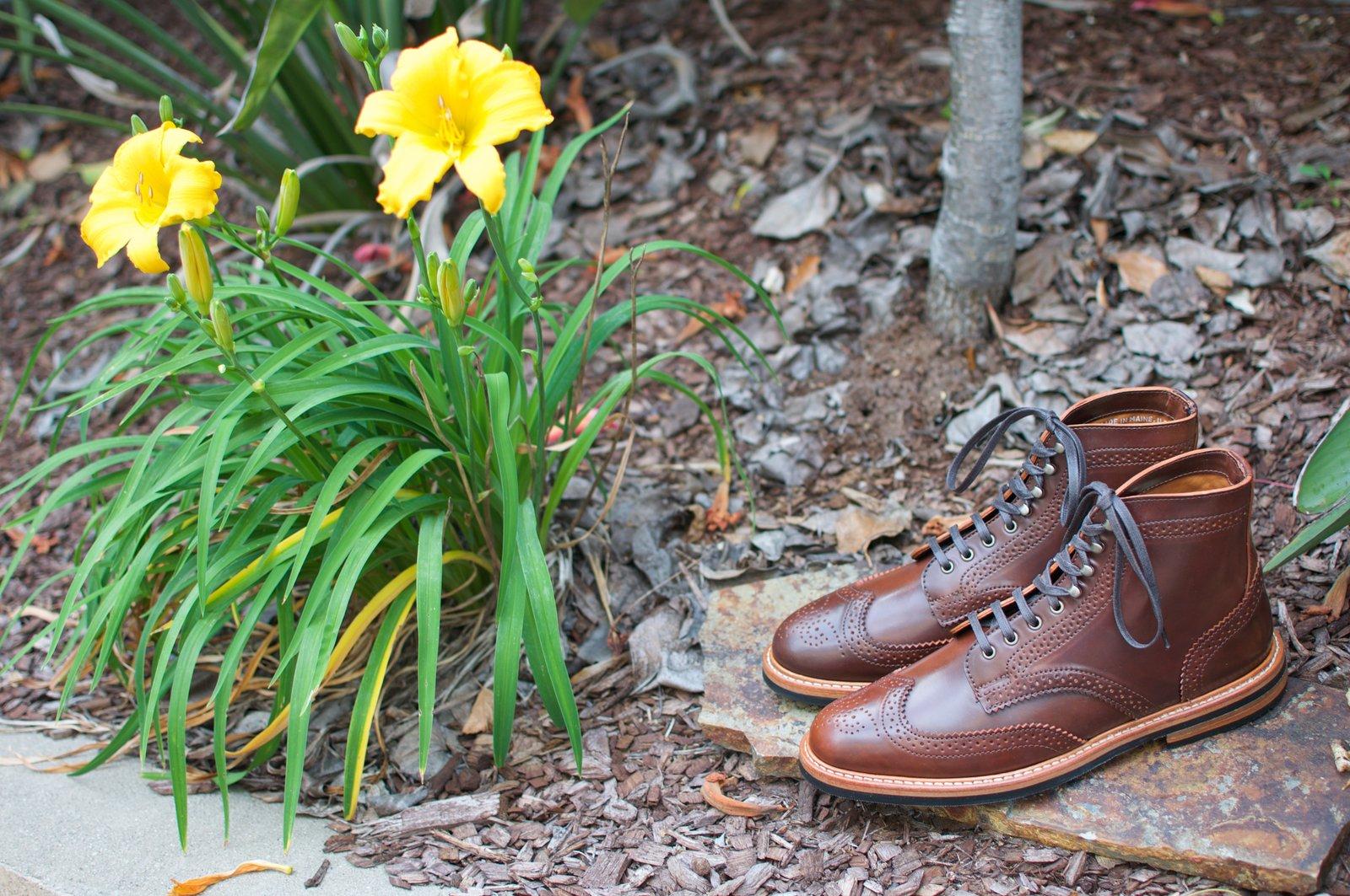 Rancourt Color #4 Shell Cordovan WT Boots - 2020-05-16 - 2.jpg