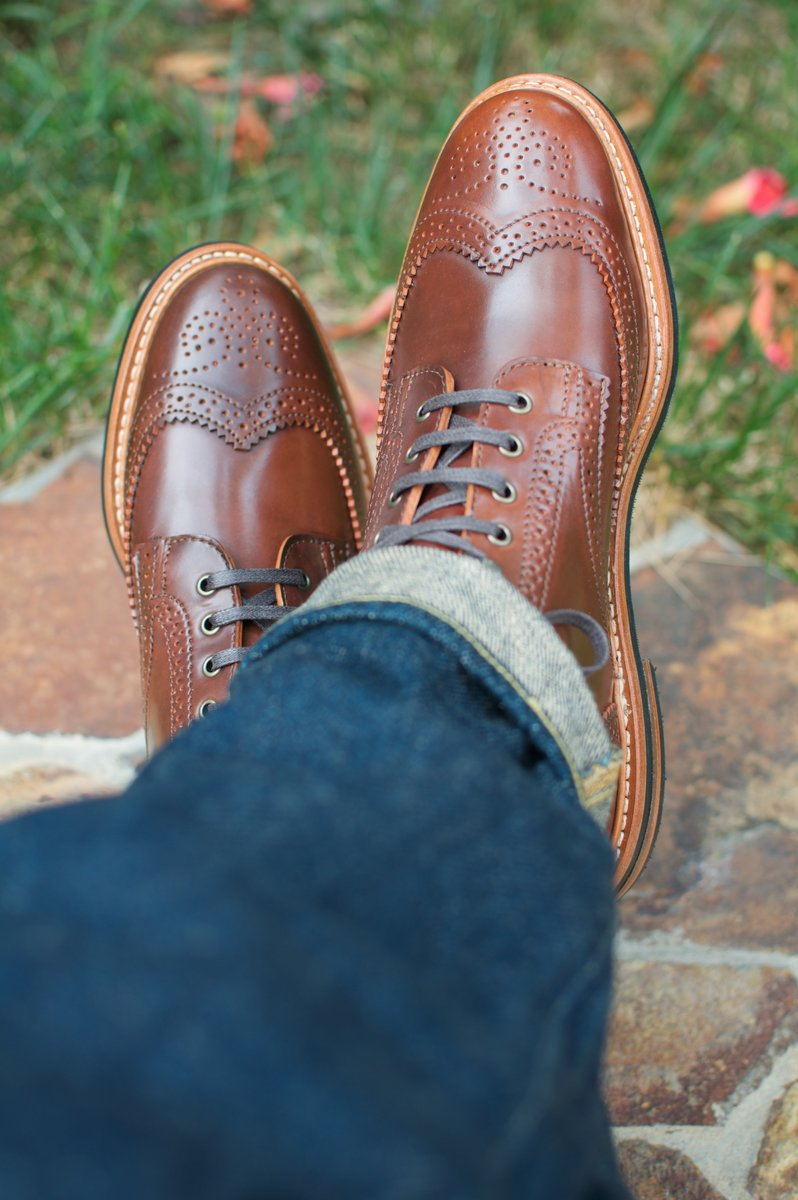 Rancourt Color #4 Shell Cordovan WT Boots - 2020-05-16 - 5.jpg