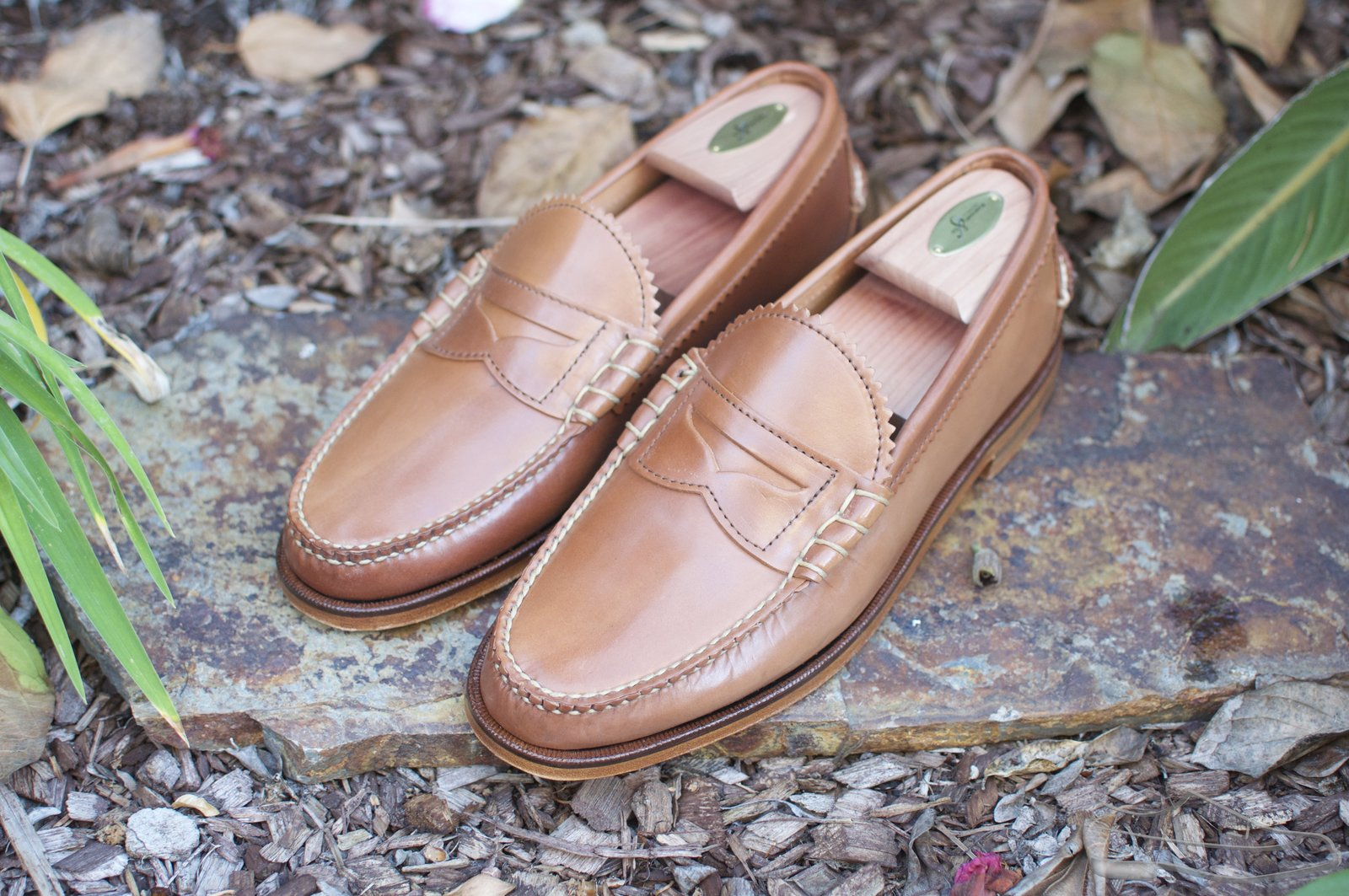 Rancourt Natural Shell Cordovan Beef-Roll Loafers - 2021-05-25 - 1.jpg