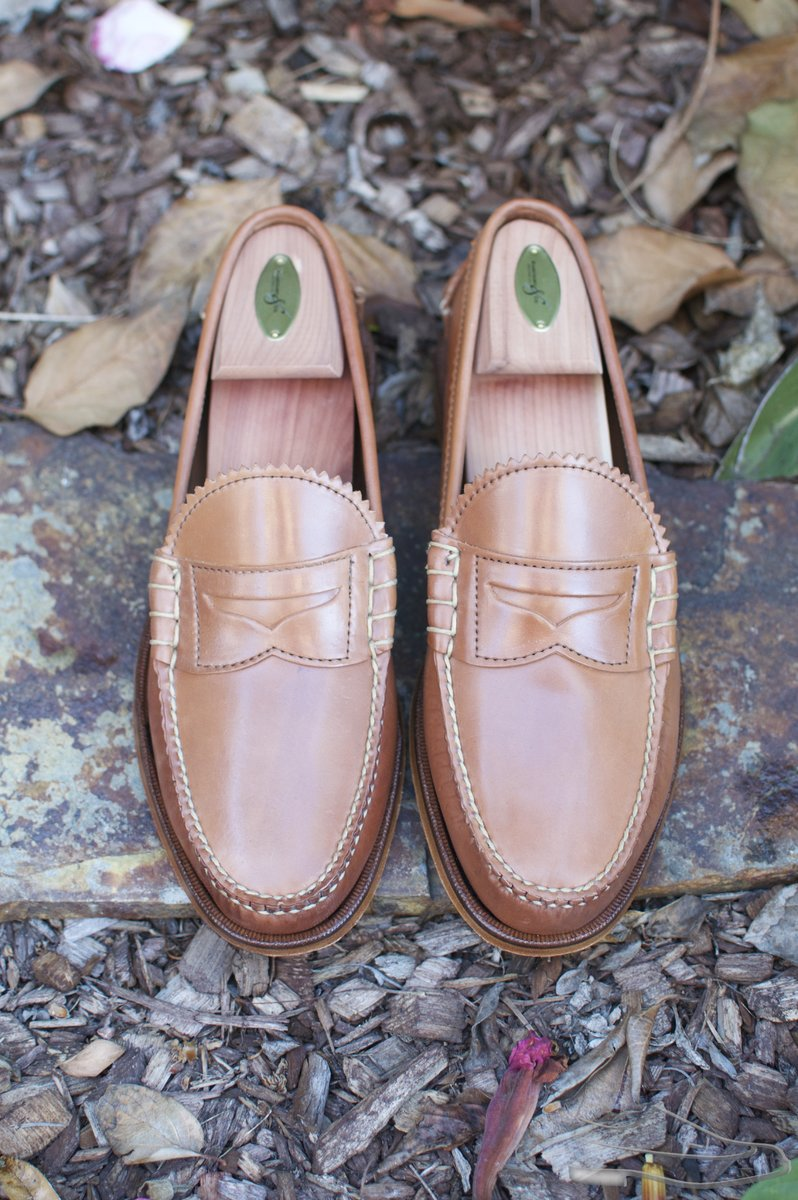 Rancourt Natural Shell Cordovan Beef-Roll Loafers - 2021-05-25 - 4.jpg