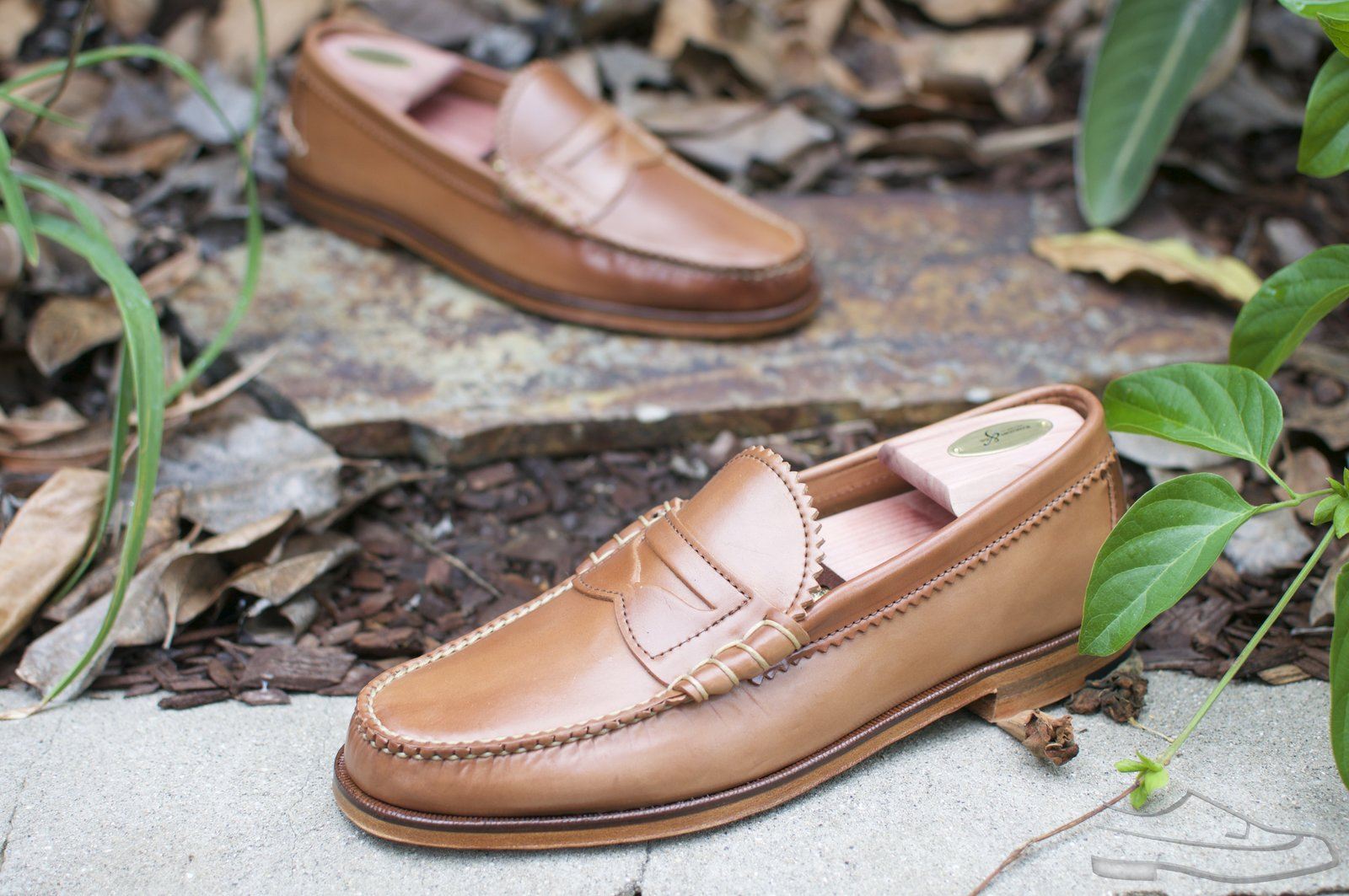 Rancourt Natural Shell Cordovan Beefroll Loafer - 18.jpg