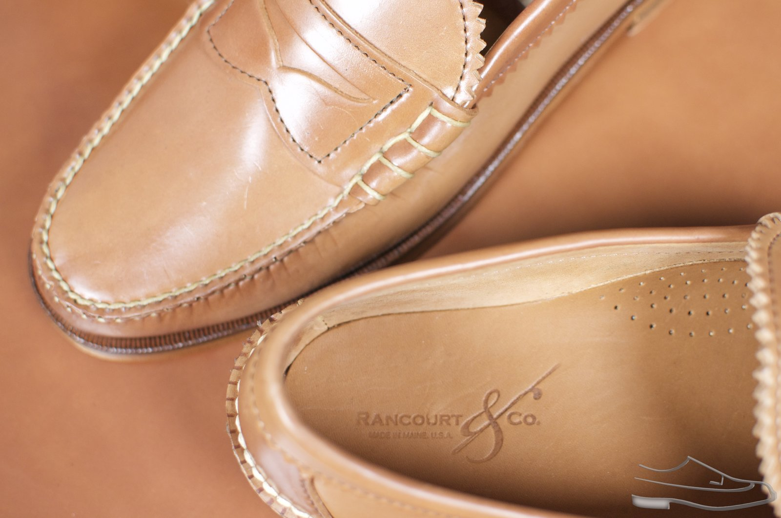 Rancourt Natural Shell Cordovan Beefroll Loafer - 54.jpg