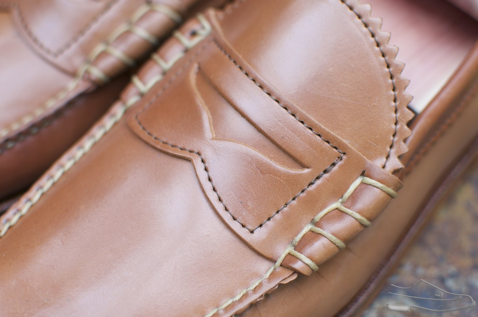 Rancourt Natural Shell Cordovan Beefroll Loafers - 2020-09-25 - 2.jpg
