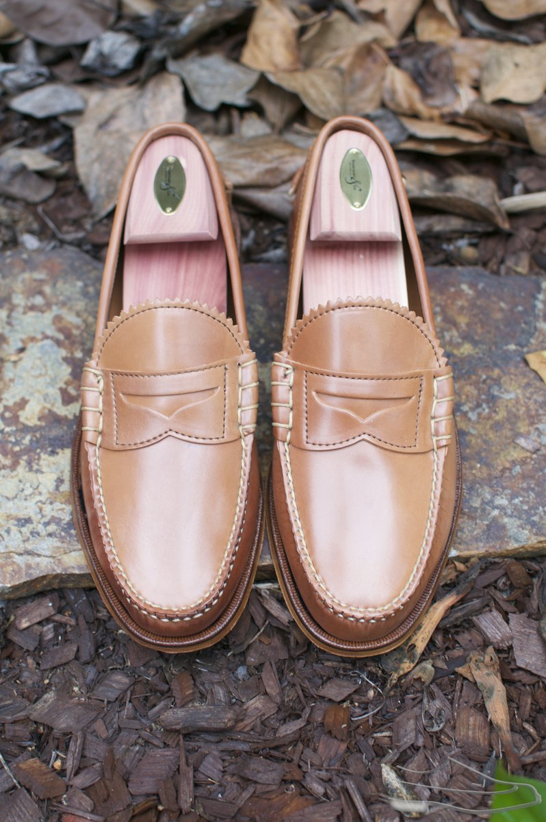 Rancourt Natural Shell Cordovan Beefroll Loafers - 2020-09-25 - 4.jpg