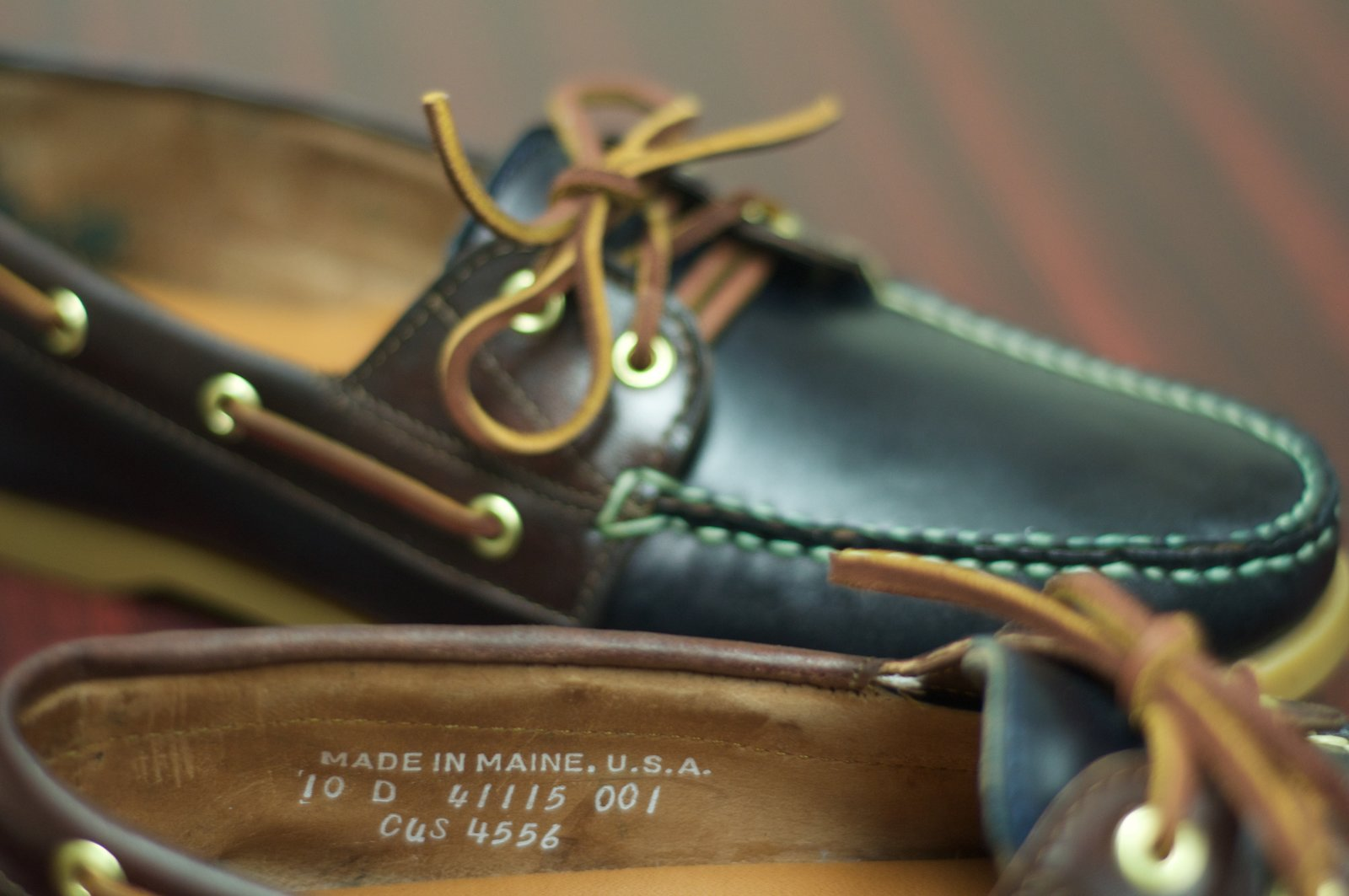 Rancourt Navy and Brown Shell Cordovan Boat Shoes - 15.jpg