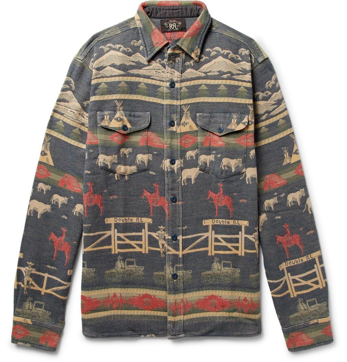 rrl-blue-Cotton-jacquard-Shirt.jpeg