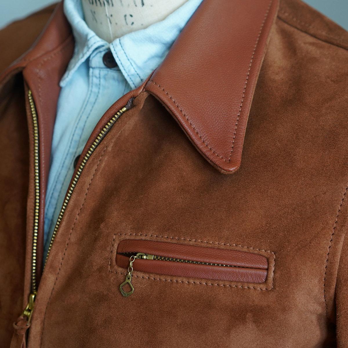 Rust Suede Highwayman Collar.jpg