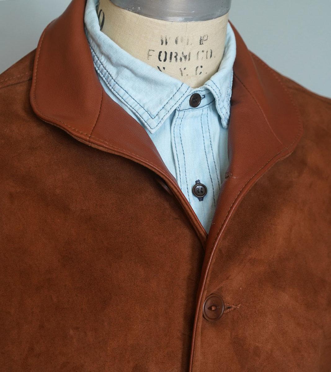 Rust Suede Tanker Collar.jpg