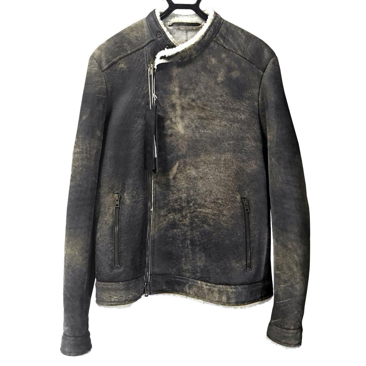 Salvatore Santoro Shearling Biker Jacket.jpg