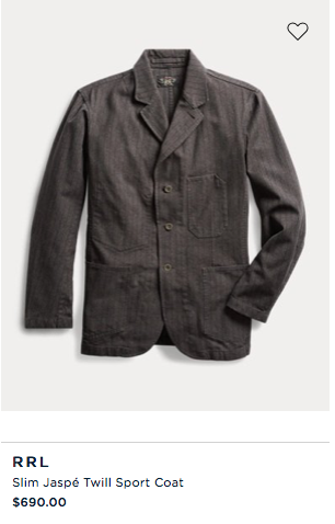 Slim Jaspé Twill Sport Coat $690.png