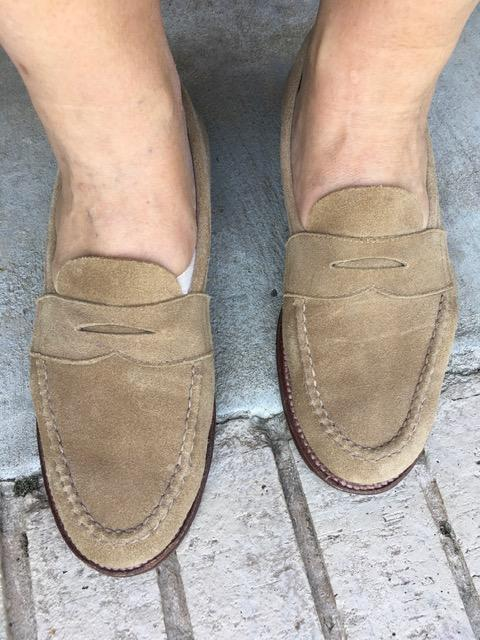Tan Suede LHS loafer.jpe