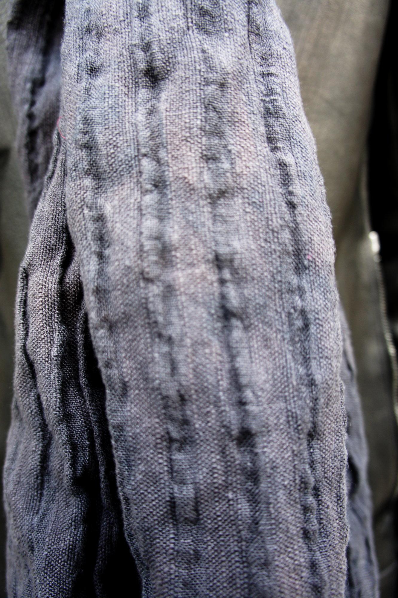 textured black linen stole_3.JPG
