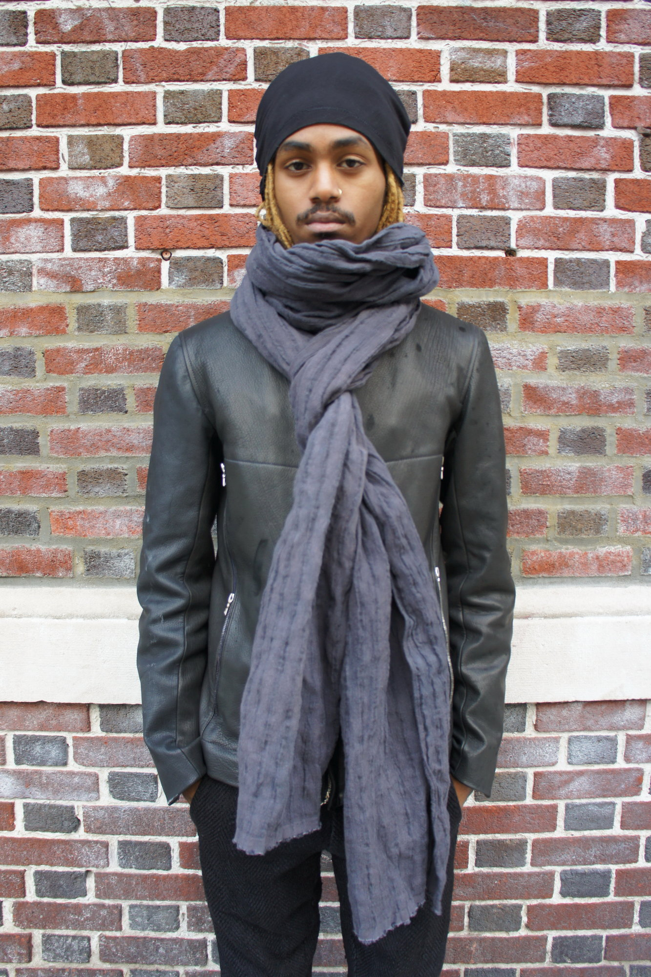 textured black linen stole_4.JPG