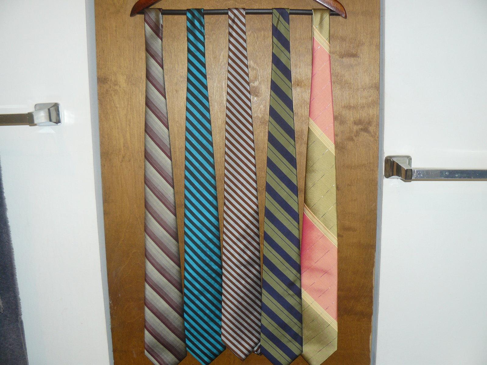 Thai Stripe Neckties.JPG