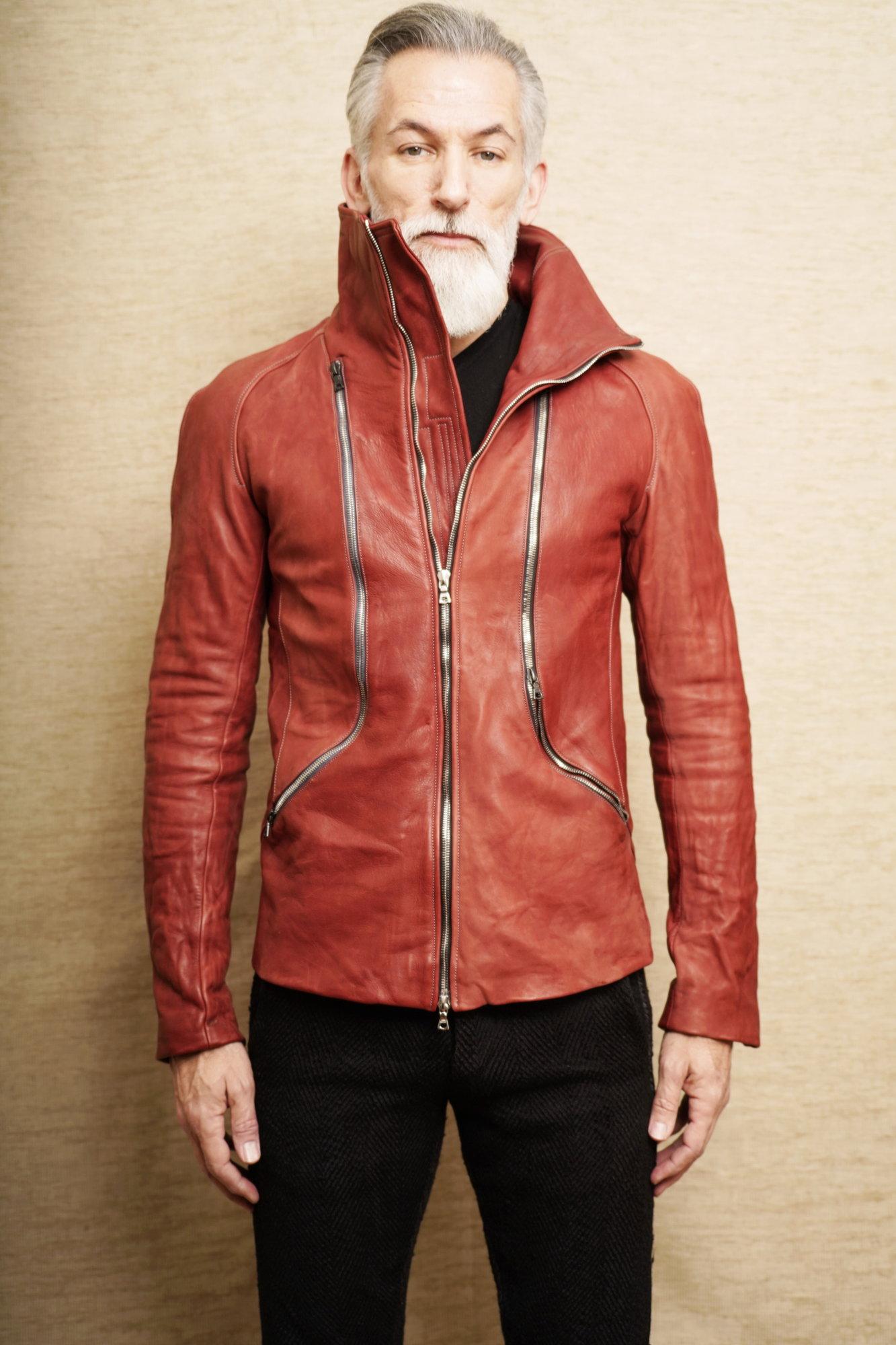 Tri Zip Leather Jacket_6.JPG