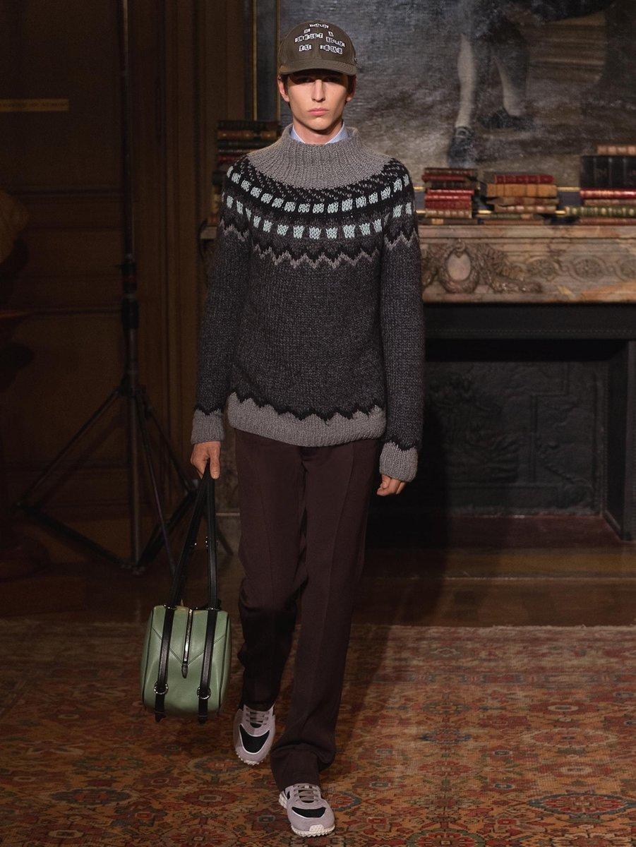 valentino-GREY-Funnel-neck-Geometric-intarsia-Sweater (1).jpg